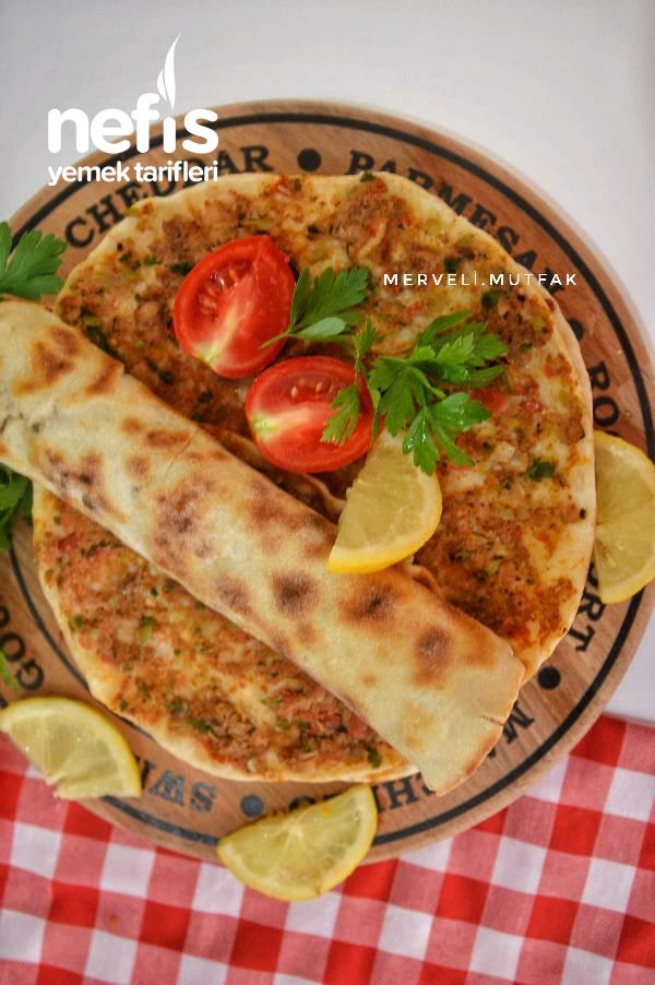 Tavada Lahmacun ( Parmaklarınızı yiyeceksiniz)