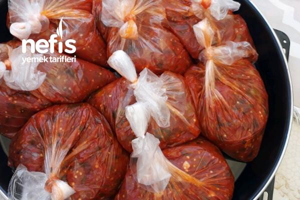 Kışlık Kahvaltılık Patlıcanlı Sos Tarifi