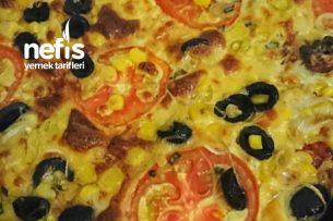Vejetaryen Pizza (Italian Style) Tarifi