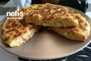 Yufkasız Kabaklı Tava Böreği (Kabağı Sevdiren Aşırı Kolay) Tarifi