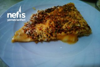 Yulaflı Diyet Omlet (Zeytinyağı İle) Tarifi