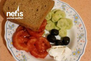 Akşamdan Hazırlanan Kahvaltı Tabağı Ve Ara Öğün Tarifi