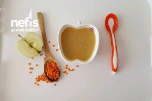 Elmalı Bebe Mercimek Çorbası  8 Ay Tarifi
