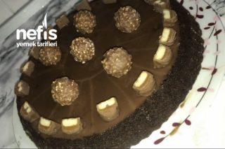 Karamelli Çikolatalı Pasta Tarifi