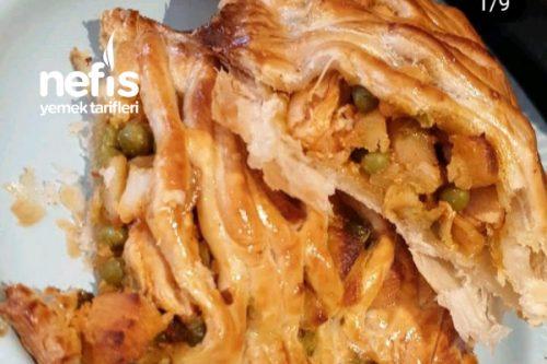 Milföyde Sebzeli Tavuk (Börek Tadında) Tarifi
