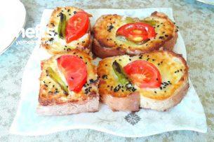 Nefis Ekmek Dilimleri( Yoğurtlu) Tarifi