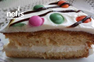 5 Dakikalık Yaş Pasta Tarifi