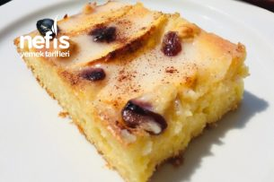 Elmalı Soslu Pasta Tarifi