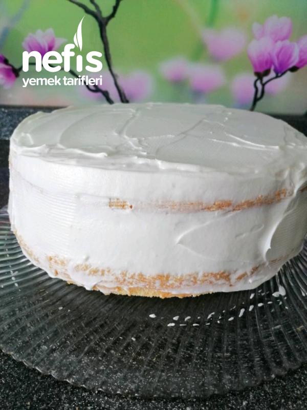Frambuazlı Doğum Günü Pastası