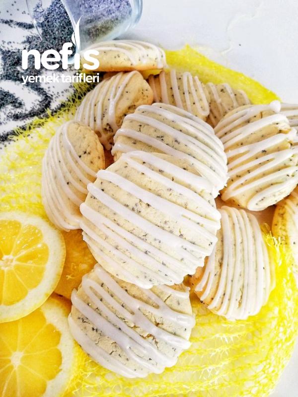 Limonlu Haş Haşli Kurabiye