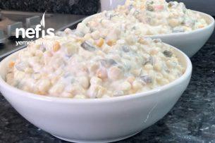 Makarnalı Amerikan Salatası (Videolu) Tarifi
