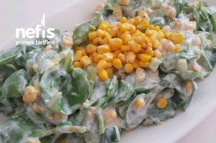 Yaz Salatası Mısırlı Semizotu Tarifi