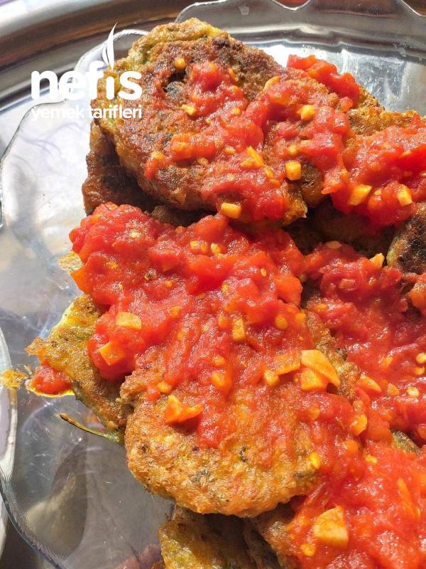 Boll Domates Soslu Patlıcan Mücver