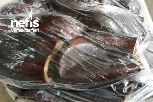 Dolmalık Patlıcan Hazırlama (Buzluk İçin)