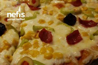 Ev Yapımı İnce Hamurlu Pizza Tarifi