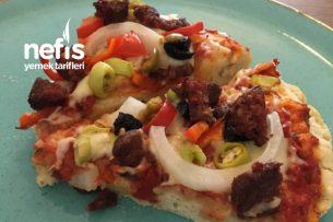 Hazır Tadında Ev Yapımı Pizza Tarifi