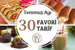 2019 Temmuz Ayına Damga Vuran 30 Tarif Tarifi