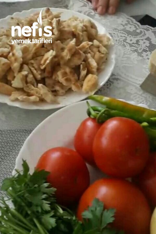 Domatesli Maydanoz Ekmek Aşı