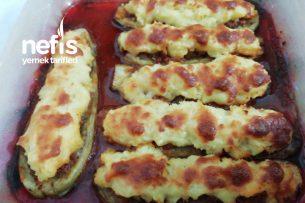 Fırında Patates Püreli Patlıcan Tarifi