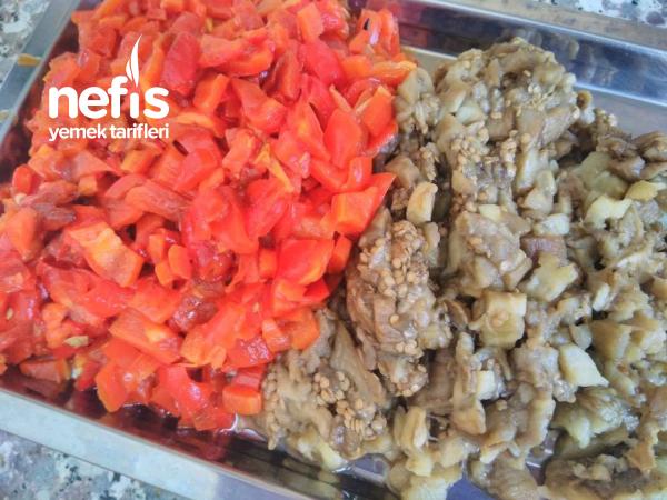 Kışlık Patlıcan Salatası