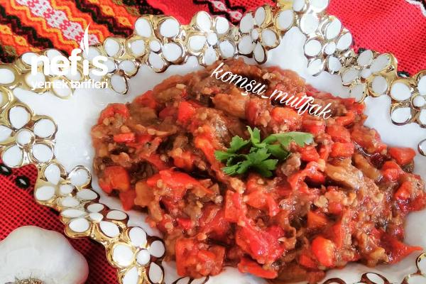 Kışlık Patlıcan Salatası Tarifi