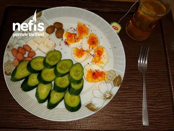 1 Haftalık Diyet Kahvaltısı 1. Gün