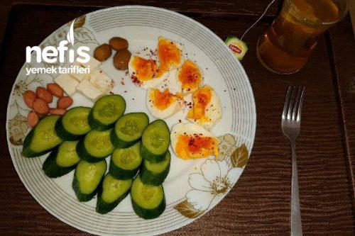 1 Haftalık Diyet Kahvaltısı 1. Gün Tarifi