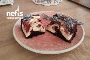 Brownie Ve Frambuazlı Cheesecake Tarifi