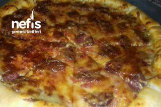Luna Pizza (Muhteşem Lezzet) Tarifi