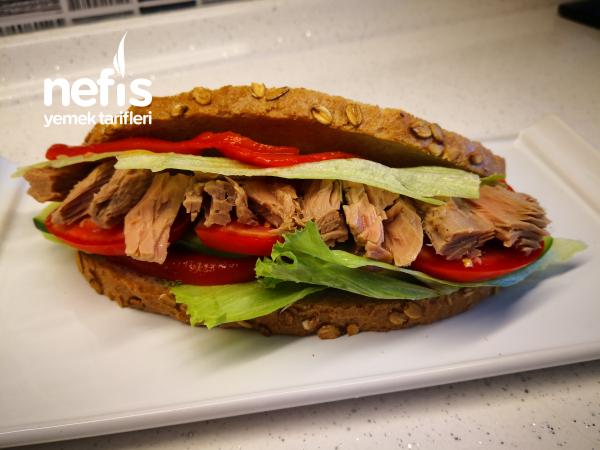 Ton Balıklı Sandviç Tarifi – Spor Ve Diyet Yapanlar Burada Mı?