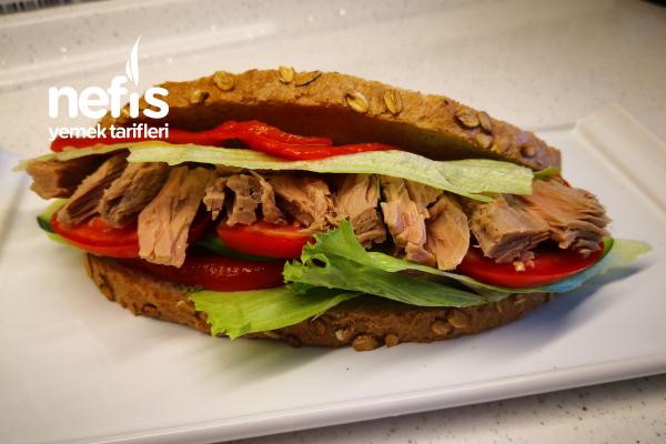 Ton Balıklı Sandviç Tarifi Spor Ve Diyet Yapanlar Buradamı (Videolu)
