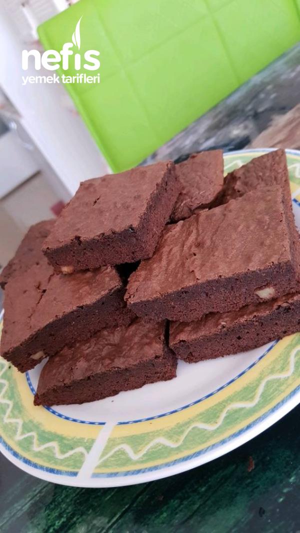 Çikolatalı kek (Brownie Tadında)