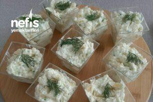 Patates Ve Salatalık Mezesi Tarifi