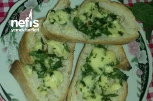 Peynirli Ve Maydanozlu Ekmek Tarifi