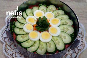 Salata (Pasta Görünümlü) Tarifi