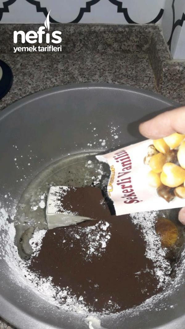 Cikolatali Ay Kurabiye