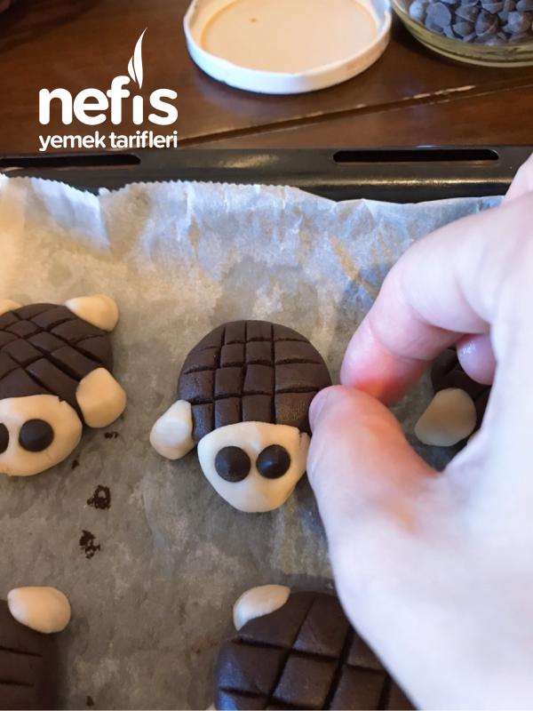 Kaplumbağa Kurabiye ( Bayram İçin Çocuklara İkramlık )
