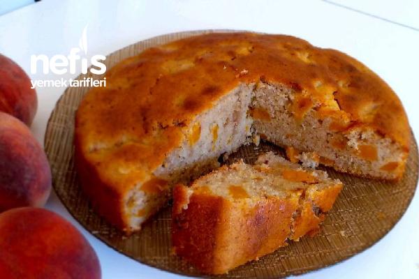 Şeftali Ve Tarçınlı Kolay Kek (Videolu)