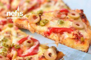 Tavada Pizza (Gerçek Pizza Lezzetinde) Tarifi