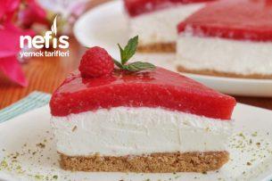 En Hesaplı Pişmeyen Cheesecake (videolu) Tarifi