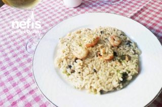 Risotto - Mantarlı-karidesli (İtalyan Mutfağı) Tarifi