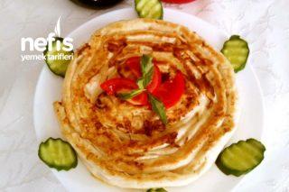 Bomba Tarif Pratik Tava Böreği (Tavada Dolama Börek) Tarifi
