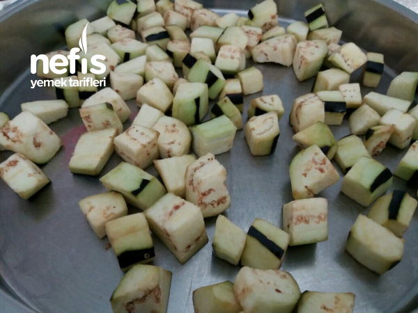 Çıtır Patlıcan Küpleri