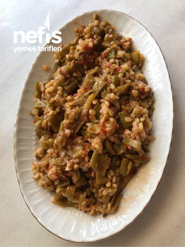 Dible (Zeytinyağlı Fasulye Salatası)