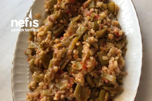 Dible (Zeytinyağlı Fasülye Salatası) Tarifi