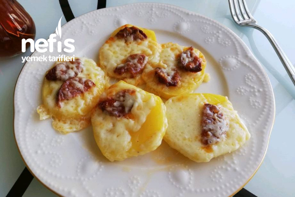 Kahvaltılık Fırında Patates Tarifi