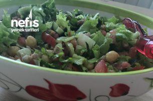 Tonbalıklı Nohut Salatası Tarifi