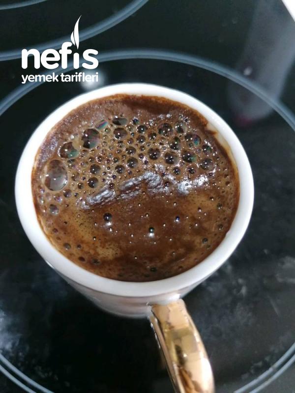 Bol Köpüklü Türk Kahvesi ( Cezvesiz)