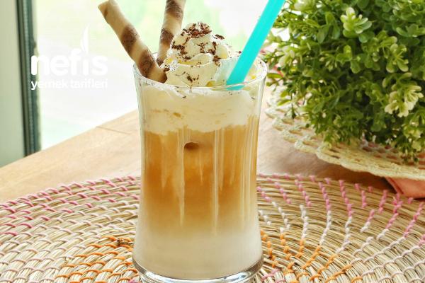 1 Dakikada Buzlu Soğuk Türk Kahvesi Yapımı (videolu) Tarifi