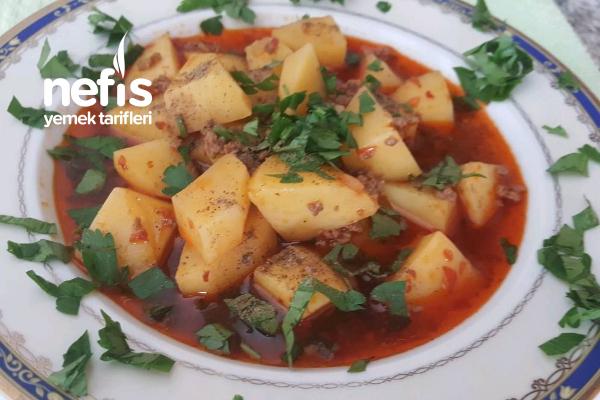 Kıymalı Patates (Zor Zamanlar Yemeği) Tarifi